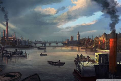 thames river wallpaper 1280x1024 8698 assassin s creed syndicate thames river 1868 4k hd desktop