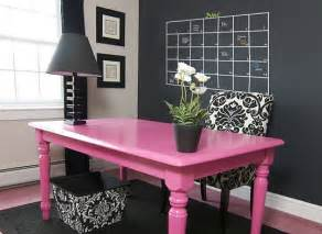 Pink And Black Home Decor by Grey Office Pink Desk Interior Design Center Inspiration