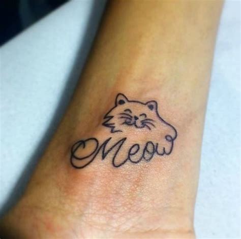 tattoo infinity cat 1000 ideas about small cat tattoos on pinterest cat