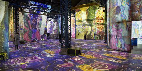 digital art gallery  paris atelier des lumieres hip
