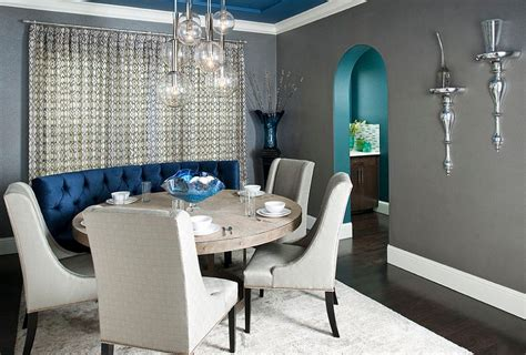 Royal Blue Dining Room Set Blue Dining Rooms 18 Exquisite Inspirations Design Tips