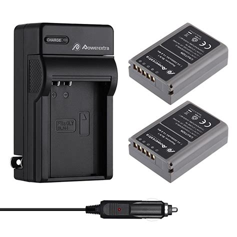 2 pack battery and charger for olympus bln 1 bcn 1 and olympus om d e m1 olympus pen f om d e m5