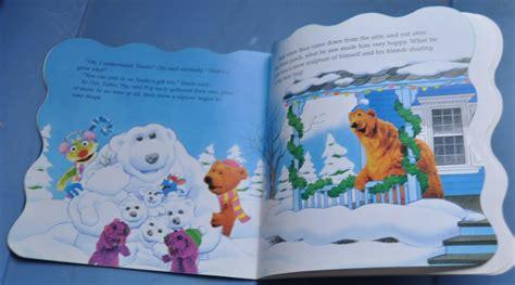 bear inthe big blue house christmas jim henson bear in the big blue house merry christmas bear w 48 stickers new