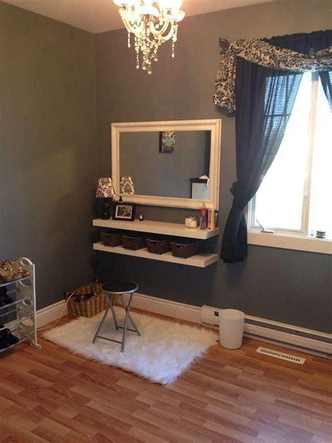 diy makeup vanity stylin diy wall mounted makeup vanity pictures diy home decor