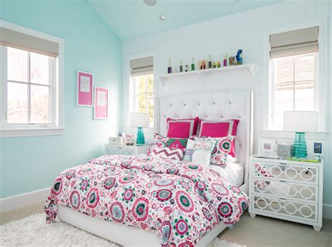 Pink And Turquoise Bedroom by California Cape Cod Home Design Home Bunch Interior