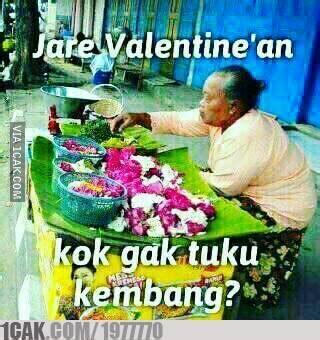 Icak Meme - meme lucu aksibelajomblo ramaikan valentine internet