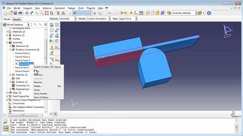 python tutorial abaqus old version contact simulation with abaqus part 2 of 2