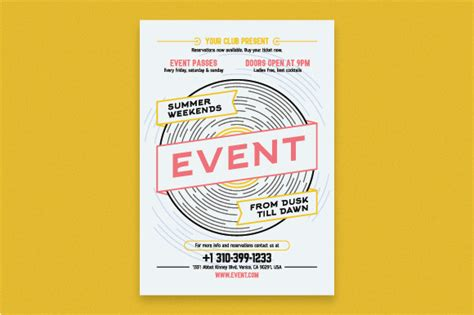 Poster For Cafe 41 musical event poster template flyer templates on