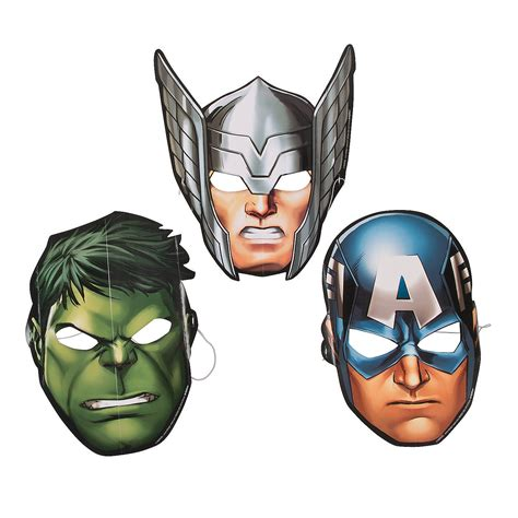 printable mask avengers marvel avengers masks