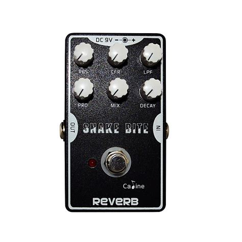 Caline Pedal Efek Gitar Reverb Cp 26 caline cp 26 snake bite reverb effect pedal bandline reverb