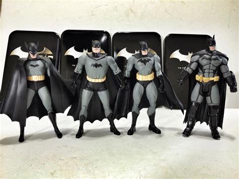 Figure Batman Set 4 dc collecitble batman 75th anniversary figure four pack
