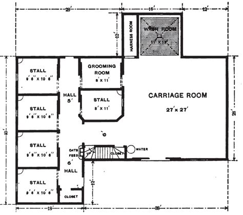 19th Century Floor Plans by 19th Century Historical Tidbits 1896 House Carriage