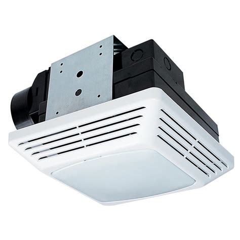 led bathroom exhaust fan nutone 70 cfm ceiling exhaust fan with recessed light