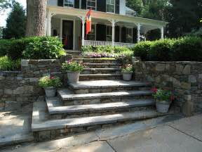 187 mitered corner steps landscape design ideas