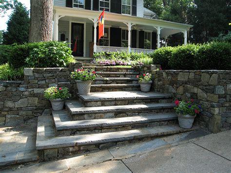 front yard landscaping stairs 187 mitered corner steps landscape design ideas
