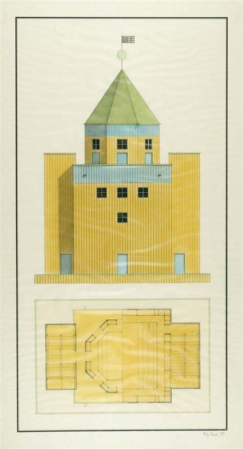 rossi aldo teatro del mondo architecture simplicity