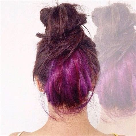 color underneath hairstyles 13 underlights hair color ideas that are cooler than