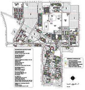 Cal State Long Beach Campus Map by Csulb Campus Viewing Gallery