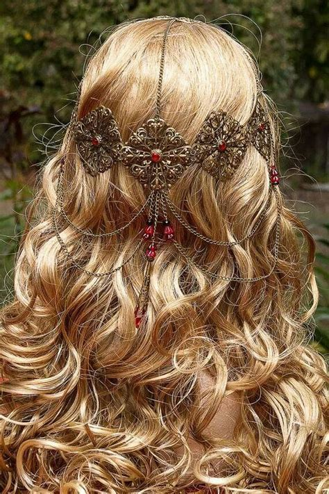 hair ancient irish celtic hair ornament hairstyles pinterest