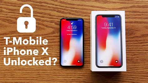 t mobile iphone x does it come factory unlocked