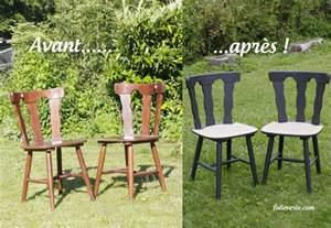 relooker des chaises en bois