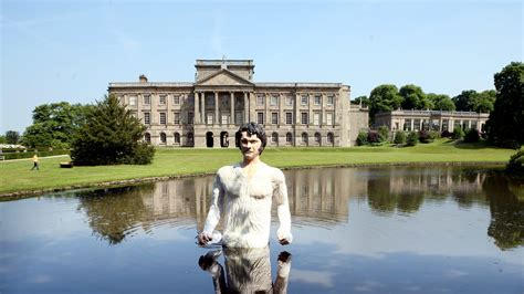 Pride And Prejudice Pemberley by Mr Darcy In Lyme Park Mr Darcy Drama Channel