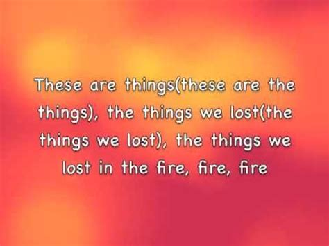 the things we lost 1846276349 things we lost in the fire bastille lyrics youtube