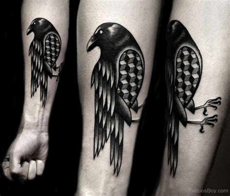 black crow tattoo tattoos designs pictures page 8