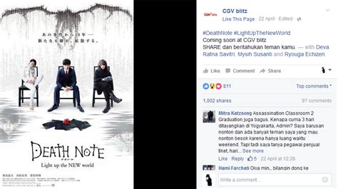 cgv indonesia facebook trailer sensu and indonesian showing for live action