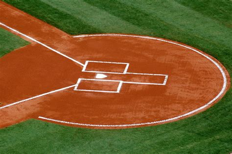 baseball s home plate free stock photo domain