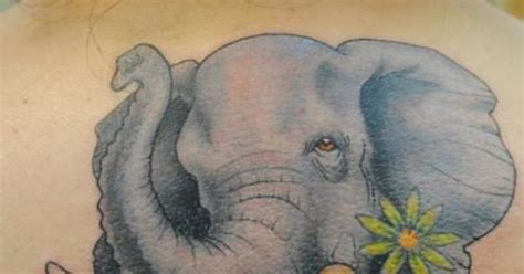 tattoo shop in elephant and castle beautiful elephant tattoos beautiful colored flowers and