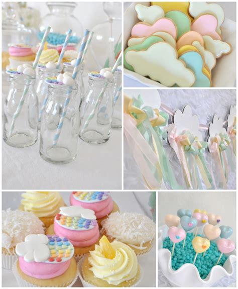 Kids Color Scheme by Kara S Party Ideas Rainbow Cloud Crafting Birthday Party