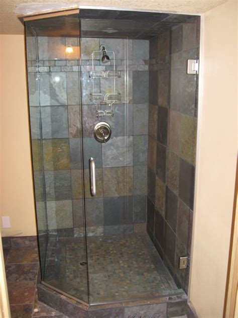 Neo Shower Door Glass Frameless Neo Angle Shower Doors In Portland Or Esp Supply Inc Mirror And Glass