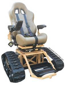 all terrain wheelchair by tracfab