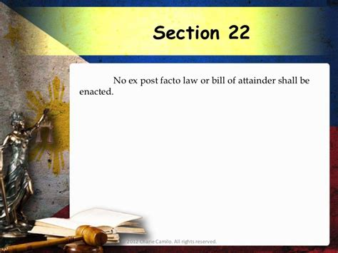 article 3 section 22 philippine constitution philippine constitution 1987 article 3 bill of rights