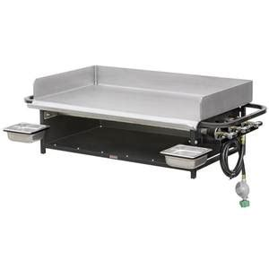big john grills pg 36 36 quot portable outdoor lp gas flat