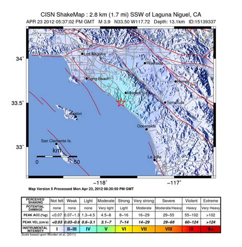earthquake orange county orange county quake could be first on recently discovered