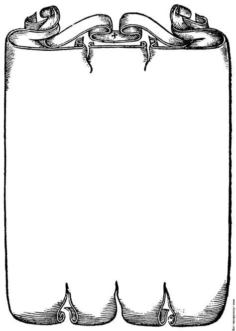 clipart images scrollwork border from page 227