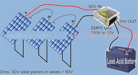 might d light charger convert smps into a solar charger circuit diagram