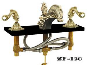 Kitchen Faucets Seattle Oriental Dolphin Or Sea Dragon Sink Faucet Set