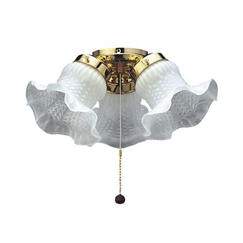discount ceiling fans manufacturer direct fantasia tulip 3 light ceiling fan kit ceiling fan light
