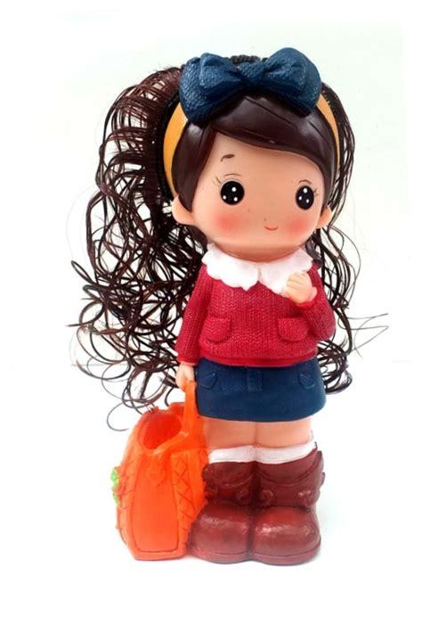 Boneka Gantung Cewek Lucu Pink 143201 boneka lucu toko bunda