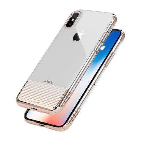 caudabe lucid clear ultra slim clear iphone x