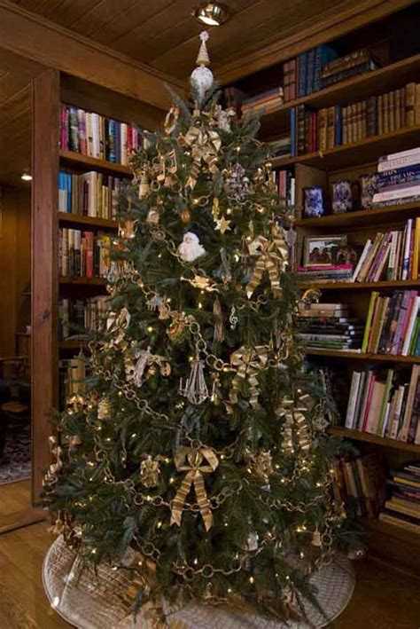 Gold And Silver Christmas Tree Ideas - themes for christmas tree decoration christmas celebrations