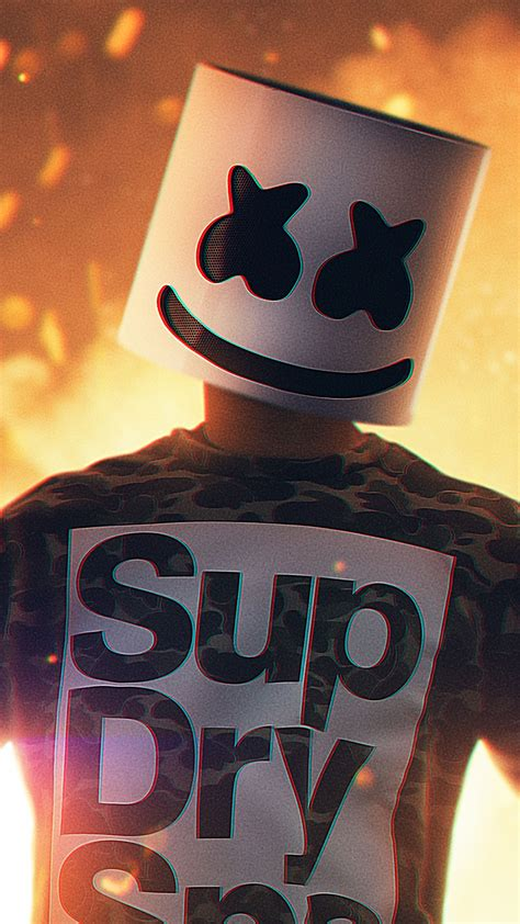 marshmello   ultra hd mobile wallpaper