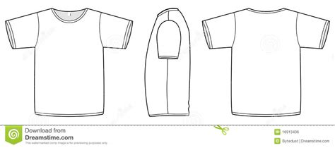sleeve t shirt template vector free 19 basic shirt vector template images s t