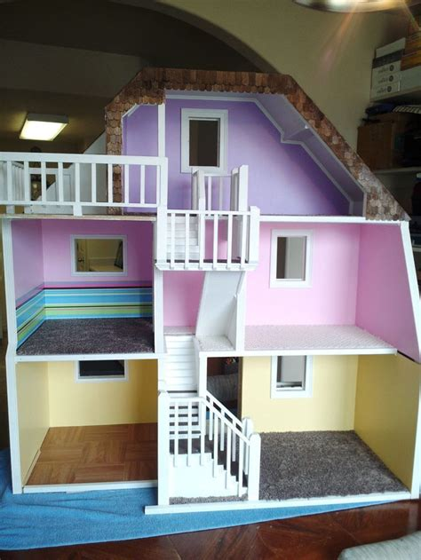 custom made doll houses 3 story custom made wood barbie doll house wooden dream dollhouse new sturdy