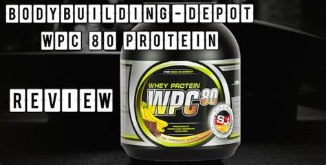 u protein whey review wpc 80 whey protein bodybuilding union unser test