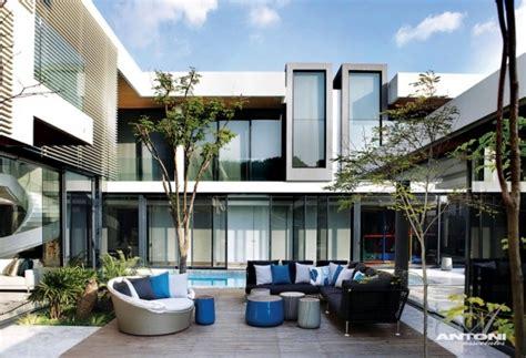 modern dream home design home interior design even a modern dream house with pool of saota and antoni