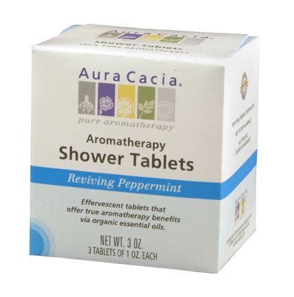Shower Eucalyptus Tablets by Aura Cacia 174 Aromatherapy Introduces New Shower Tablets